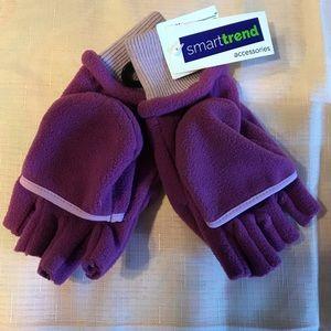 Smart Trend Girls Purple Mitts